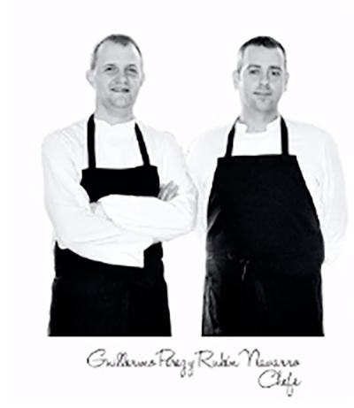Rubén y Guillermo - Chefs Blanqueries